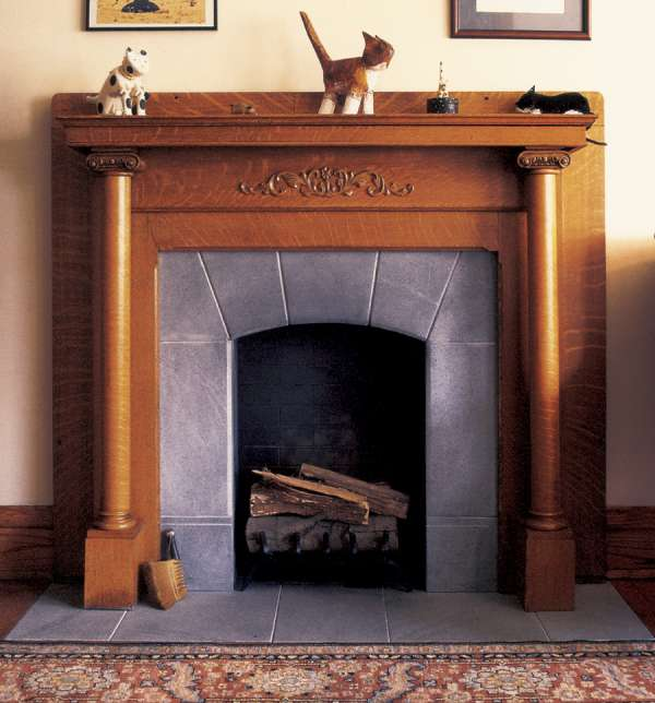 Soapstone Fireplace Hearths - Vermont Soapstone