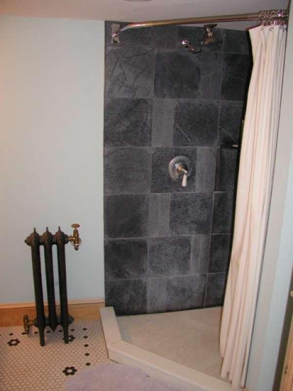 Bathroom Soapstone Flooring