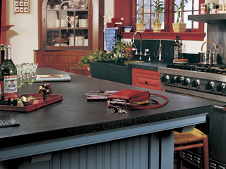 kitchen soapstone countertops - vermont soapstone