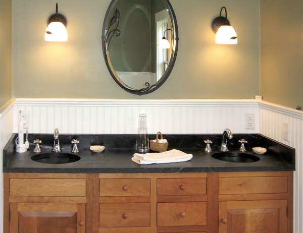 Soapstone His Her Sinks