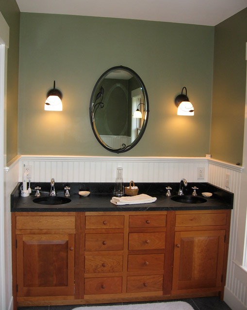 Delicieux Vermont Soapstone Worked With The Homeowner To Create These Beautiful His U0026  Her Bathroom Sinks.
