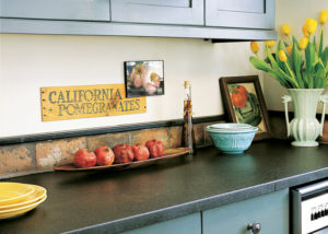 Beautiful kitchen featuring Vermont Soapstone custom countertops