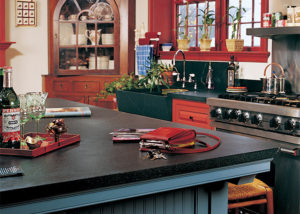 Soapstone is the perfect choice for restoring a historic kitchen.