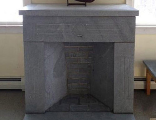 Soapstone Free-Standing Fireplace
