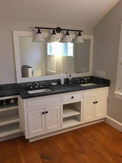 Double Sink Vanity Top Vermont Soapstone